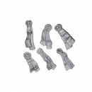 Warhammer 40k Bitz: Grey Knights - Grey Knight Terminators - Accessory R - Purity Seals (6Parts)