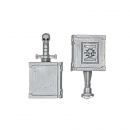 Warhammer 40k Bitz: Grey Knights - Grey Knight Terminators - Accessory X  - Backpack Banner (2Parts)