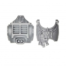 Warhammer 40k Bitz: Grey Knights - Grey Knight Terminators - Torso B (2Parts)