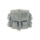 Warhammer 40k Bitz: Imperial Guard - Cadian Command Squad - Accessory H - Backpack / Pouch