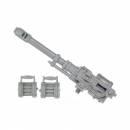Warhammer 40k Bitz: Imperial Guard - Imperial Heavy Weapon Squad - Autocannon Set