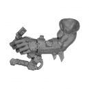Warhammer 40k Bitz: Orks - Flash Gitz - Arm D - Links, Handgriff
