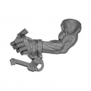 Warhammer 40k Bitz: Orks - Flash Gitz - Arm E - Left, Handle