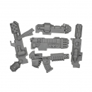 Warhammer 40k Bitz: Space Marines - Tactical Squad 2013 - Combi-Weapon-Set