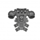 Warhammer 40k Bitz: Space Marines - Tactical Squad 2013 - Backpack B