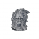 Warhammer 40k Bitz: Space Wolves Thunderwolf Cavalry Head E
