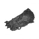 Warhammer 40k Bitz: Space Wolves - Venerable Dreadnought, Bjorn , Murderfang - Accessory C - Shoulder Decor