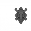 Warhammer 40k Bitz: Space Wolves - Venerable Dreadnought, Bjorn , Murderfang - Accessory H - Symbol