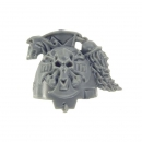 Warhammer 40k Bitz: Space Wolves Wolfs Guard Terminators Shoulder Pad H