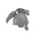 Warhammer 40k Bitz: Space Wolves Wolfs Guard Terminators Shoulder Pad L