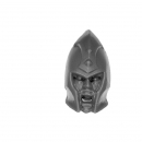 Warhammer Bitz: Dark Elves - Doomfire Warlocks / Dark Riders - Head C