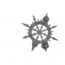 Warhammer Bitz: Warriors of Chaos - Gorebeast-/ Chaos Chariot - Accessory A - Banner Top, Left