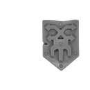 Warhammer Bitz: Warriors of Chaos - Skullcrushers of Khorne - Accessory M - Shoulder Shield