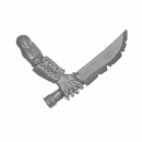 Warhammer Bitz: Vampire Counts - Zombies - Weapon G - Knife B
