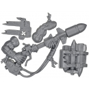 Warhammer 40k Bitz: Orks - Ork Boyz - Weapon T - Rokkit Launcha+Backpack