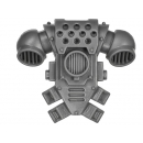 Warhammer 40k Bitz: Space Marines - Tactical Squad 2013 - Backpack C