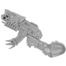 Warhammer 40k Bitz: Space Wolves Pack Arm With Bolter B