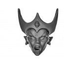 Warhammer Bitz: Dark Elves - Witch Elves / Sisters of Slaughter - Head E - Witch Elf