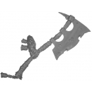 Warhammer Bitz: Warriors of Chaos - Putrid Blightkings - Weapon Arm K - Axe, Left (King C)