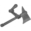 Warhammer Bitz: Vampire Counts - Grave Guard - Weapon E - Right, Axe