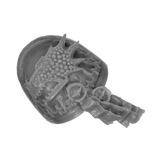 Forge World Bitz: Warhammer 40k - Salamanders - Marine Shoulder Pads - Shoulder Pad B