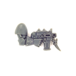 Warhammer 40K Bitz: Chaos Space Marines - Chaos Space Marines - Weapon D - Right, Bolt Pistol IV