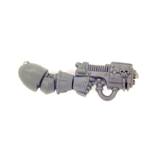 Warhammer 40K Bitz: Chaos Space Marines - Chaos Space Marines - Weapon K - Right, Plasma Pistol I