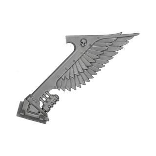 Dark Angels Ravenwing Command Bike Exhaust B