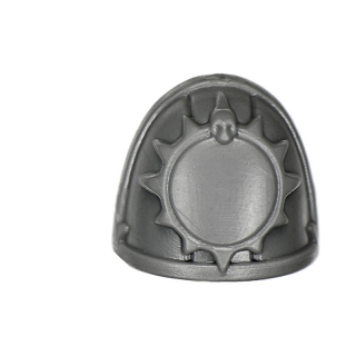 Warhammer 40K Bitz: Dark Angels Ravenwing Command Squad Shoulder Pad F Huntmaster