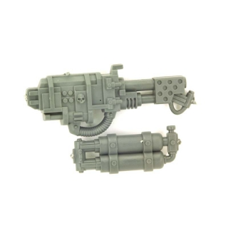 Warhammer 40K Bitz: Imperial Guard - Imperial Sentinel - Weapon H - Heavy Flamer+Tank