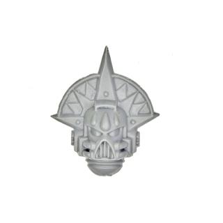 Warhammer 40,000 Blood Angel Space Marine Sanguinary Guard Helmed Heads