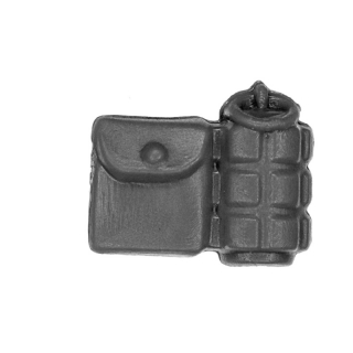 Warhammer 40k Bitz: Blood Angels - Tactical Squad - Accessory I - Belt Pouch+Grenade