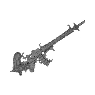 Warhammer 40k Bitz: Dark Eldar - Wracks - Arm S - Right, Acothyst, Hexrifle