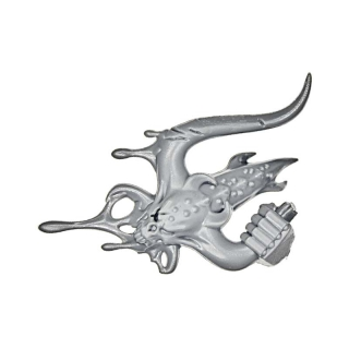 Warhammer 40k Bitz: Grey Knights - Grey Knight Terminators - Arm U - Hand V, Demon Head