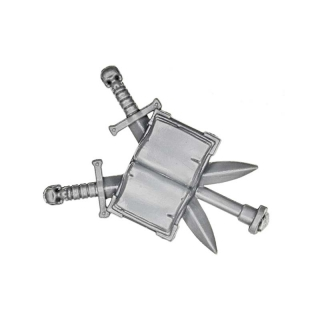 Warhammer 40k Bitz: Grey Knights - Grey Knight Terminators - Accessory U - Backpack Banner