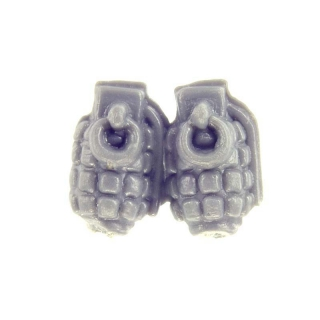 Warhammer 40k Bitz: Imperial Guard - Cadian Shock Troops - Accessory A - Grenades