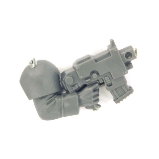 Warhammer 40k Bitz: Imperial Guard - Cadian Command Squad - Weapon A - Bolt Pistol