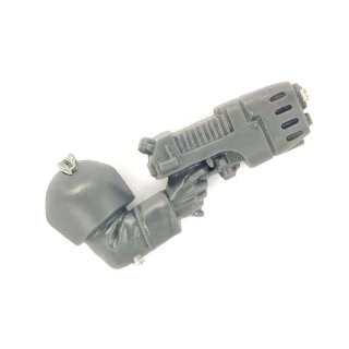 Warhammer 40k Bitz: Imperial Guard - Cadian Command Squad - Weapon K - Plasma Pistol