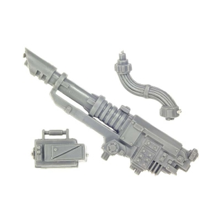 Warhammer 40k Bitz: Imperial Guard - Imperial Heavy Weapon Squad - Lascannon Set
