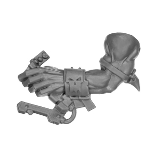 Warhammer 40k Bitz: Orks - Flash Gitz - Arm F - Left, Handle