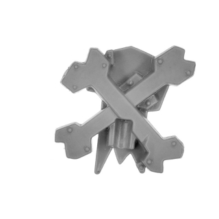 Warhammer 40k Bitz: Orks - Flash Gitz - Accessory V03 - Boss Pole Top III