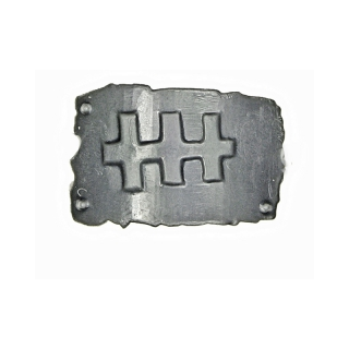 Warhammer 40k Bits: Orks - Ork Nobz - Accessory X1 - Armour Plate I