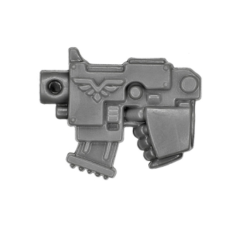 Warhammer 40k Bitz: Space Marines - Vanguard Veteran Squad - Weapon D - Bolt Pistol IV