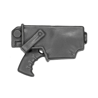 Warhammer 40k Bitz: Space Marines - Tactical Squad 2013 - Accessory F - Pistol In Holster