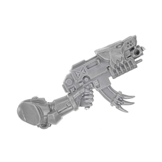 Warhammer 40k Bitz: Space Wolves - Space Wolves Rudel - Arm Mit Bolter B