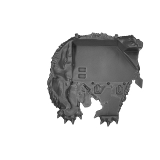 Warhammer 40k Bitz: Space Wolves - Venerable Dreadnought, Bjorn , Murderfang - Accessory B - Shoulder Decor