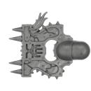 Warhammer AoS Bitz: CHAOS - 008 - Khorne Bloodbound Blood Warriors - Head K - Champion
