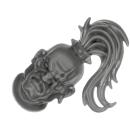 Warhammer AoS Bitz: CHAOS - 008 - Khorne Bloodbound Blood Warriors - Head M - Champion