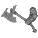 Age of Sigmar Bitz: Chaos - Khorne BloodBound - Blood Warriors - Waffe P1 - Goreaxe, Links