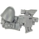 Warhammer 40k Bitz: Space Marines - Scouts - Bolt Pistol C
